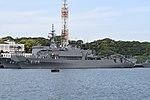 JS Nichinan(AGS-5105) left front view at JMSDF Yokosuka Naval Base April 30, 2018.jpg