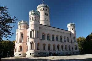 Lancken-Granitz - Jagdschloss Granitz (Neo Gothic hunting castle near Binz)