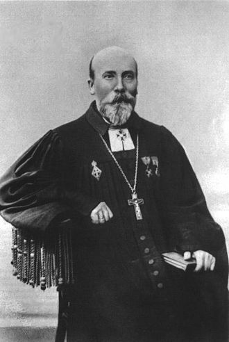 Jakob Hurt - Jakob Hurt as a young pastor in St. Petersburg