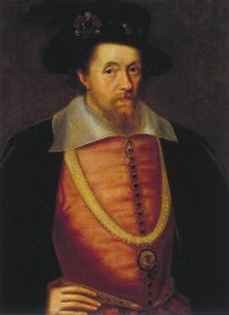Union of the Crowns - James VI of Scotland.