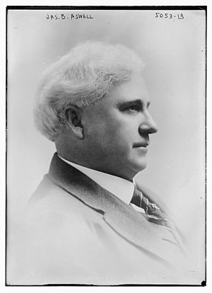 James Benjamin Aswell - Aswell circa 1915