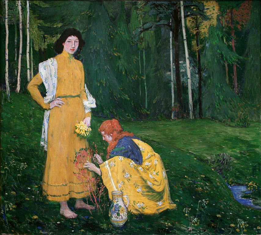 Printemps de Jan Preisner au musée d'Art moderne de Prague.