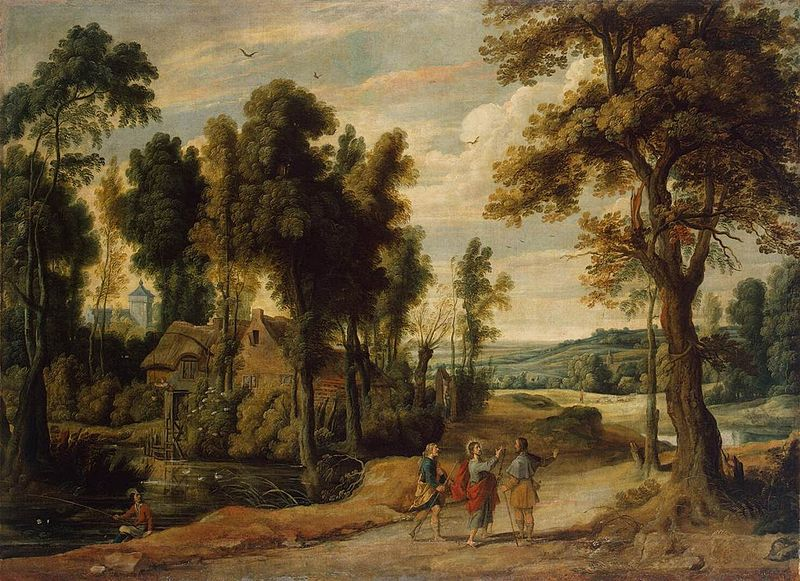 File:Jan Wildens - Landscape with Christ and his Disciples on the Road to Emmaus - WGA25745.jpg