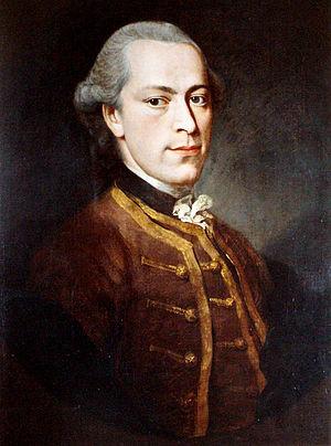 Januarius Zick - Januarius Zick (self-portrait) ca. 1755