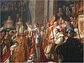January Palais Louvre - Master Earth Photography 2014 Krönung der erblichen Kaiserin der Franzosen Josephine Bonaparte, im Beisein Pabst Pius VII. Die Marschälle von Frankreich tragen Krone, Schwert und Reichsapf - panoramio.jpg