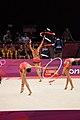 Japan Rhythmic gymnastics at the 2012 Summer Olympics (7915137126).jpg