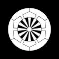 Japanese crest Sakakibara gennjikuruma.png