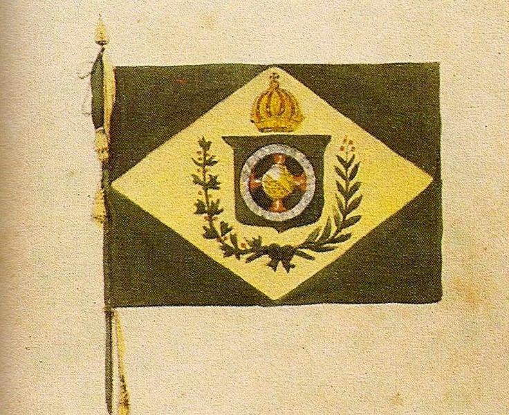 Ficheiro:Jean-Baptiste Debret - Bandeira e pavilhão brasileiros (detalhe).jpg