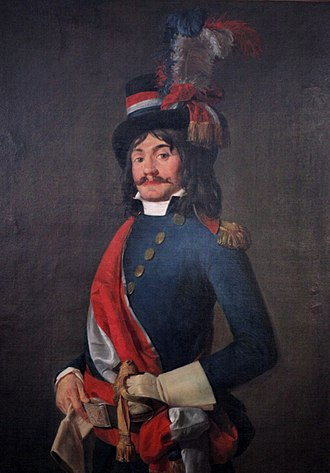 Édouard Jean Baptiste Milhaud - Édouard Jean Baptiste Milhaud, deputy of the Convention, in his uniform of representant of the People to the Armies, by Jean-François Garneray or another follower of Jacques-Louis David.