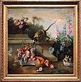 Jean-baptiste oudry, natura morta con scimmia, frutta e fiori, 1724, 01.jpg