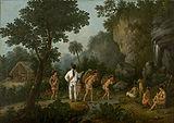 Debret: Ca�ador de escravos