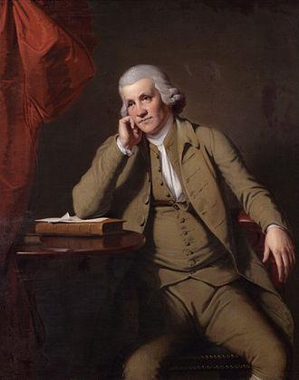 Jedediah Strutt - Portrait, oil on canvas, of Jedediah Strutt (1726–1797) by Joseph Wright of Derby (1734–1797)