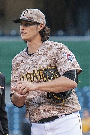 Jeff Locke (baseball) - Locke with the Pittsburgh Pirates