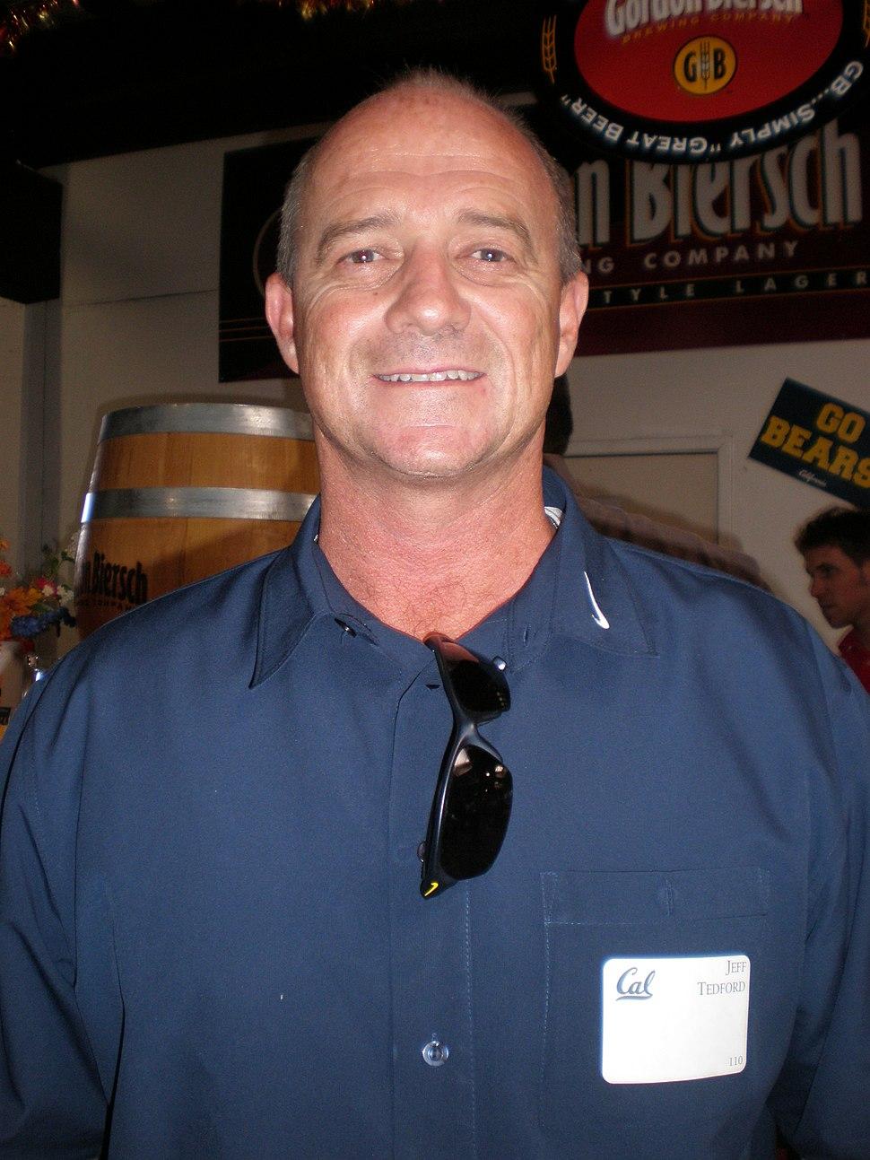 Jeff Tedford at 2009 Coaches Tour in SJ 1