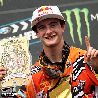 Jeffrey Herlings Dutch motorcycle racer