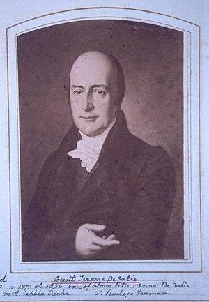 Jerome, 4th Count de Salis-Soglio - Image: Jerome De Salis Albumshot