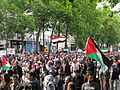Jielbeaumadier manifestation pro-palestine paris 2014.jpeg