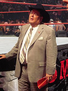 Jim Ross American professional wrestling commentator, professional wrestling referee, and restaurateur