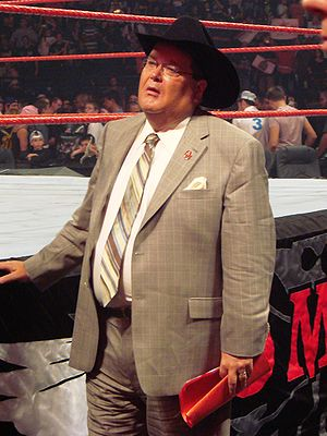 Jim Ross - Ross at WWE No Mercy in 2007