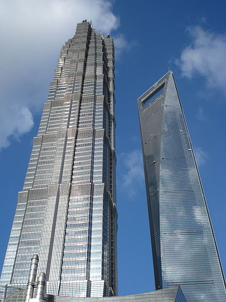 Súbor:Jin Mao Tower and Shanghai World Financial Center.jpg