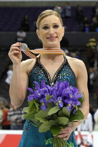 Joannie Rochette - Rochette at the 2009 Worlds.