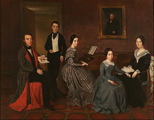 Joaquim Espalter - The Family of Jorge Flaquer (a banker)