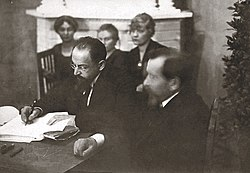 Joffe signing the Treaty of Tartu.jpg