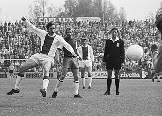 European Cup and UEFA Champions League history - Cruyff playing with Ajax in 1971