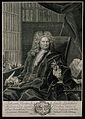 Johann Heinrich Linck. Line engraving by Bernigeroth. Wellcome V0003578.jpg