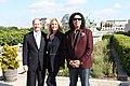 John B. Emerson, Shannon Tweed, and Gene Simmons in Berlin, 2015.jpg