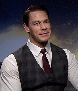 John Cena American professional wrestler, bodybuilder, rapper, actor and television host