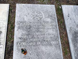 John Pemberton - Grave of John Pemberton in Columbus, Georgia