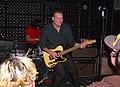 John Reis live with Sultans 1-10-07.jpg