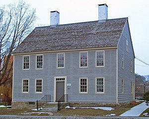 Danbury Museum and Historical Society - The John Rider House, part of the main campus of the DMHS