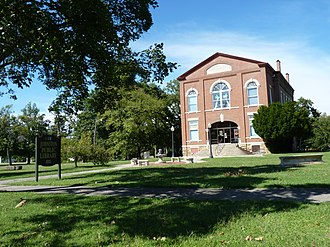 National Register of Historic Places listings in Cherokee County, Kansas - Image: Johnston Library