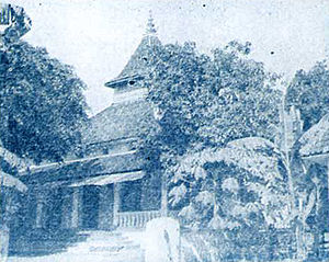 Nahdlatul Ulama - Jombang Mosque, birthplace of the Nahdlatul Ulama