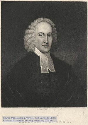 "English: ""Jonathan Edwards,"" lithogr..."