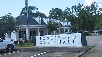 Jonesboro, Louisiana - Jonesboro City Hall