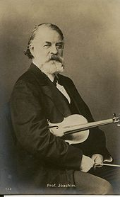 Joseph Joachim (Quelle: Wikimedia)
