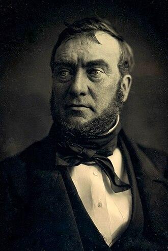 Joshua Bates (financier) - Joshua Bates daguerreotype, circa 1850