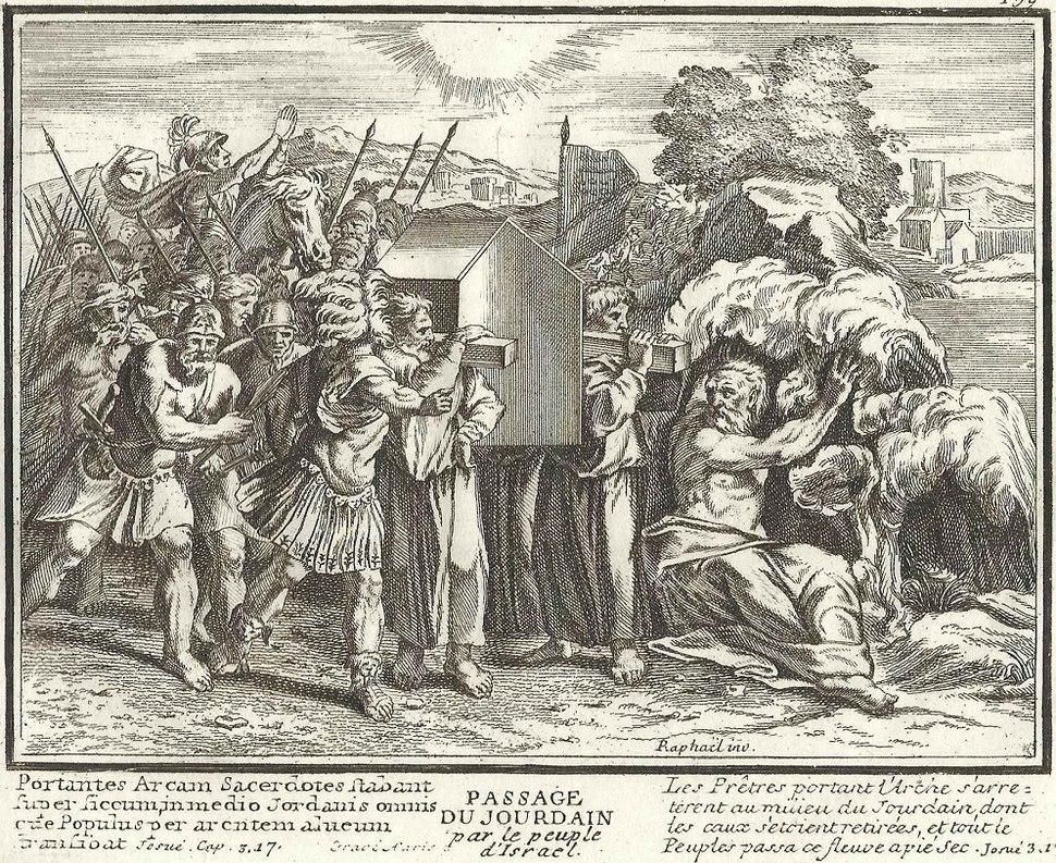 Joshua Leading the Israelites Across the Jordan on 10th of Nisan