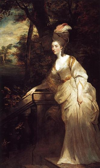 Georgiana Cavendish, Duchess of Devonshire - Georgiana, Duchess of Devonshire by Sir Joshua Reynolds, c. 1775, The Devonshire Collection