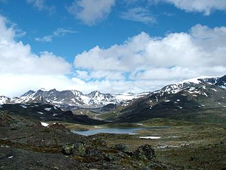 Vågå - Jotunheimen mountains
