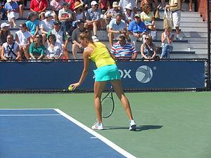 Bojana Jovanovski - Jovanovski at the 2012 US Open