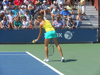 Bojana Jovanovski - Jovanovski at the 2012 US Open