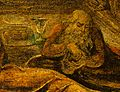 Judas in William Blake's The Last Supper c 1799 Butlin 434 detail.jpg
