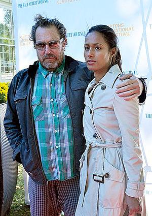 Rula Jebreal - Jebreal and Julian Schnabel, 2010