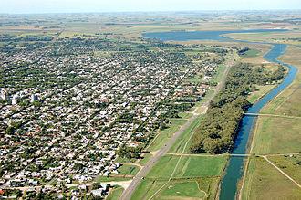 Salado River (Buenos Aires) - Junín on the Río Salado