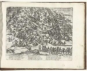 Junkersdorf massacre - Frans Hogenberg, Die Greuliche Morderei bei Jonckersdorff (1586–1588)