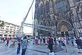 Kölner Dom - Abbau südöstliches Gerüst Nordturm-3002.jpg